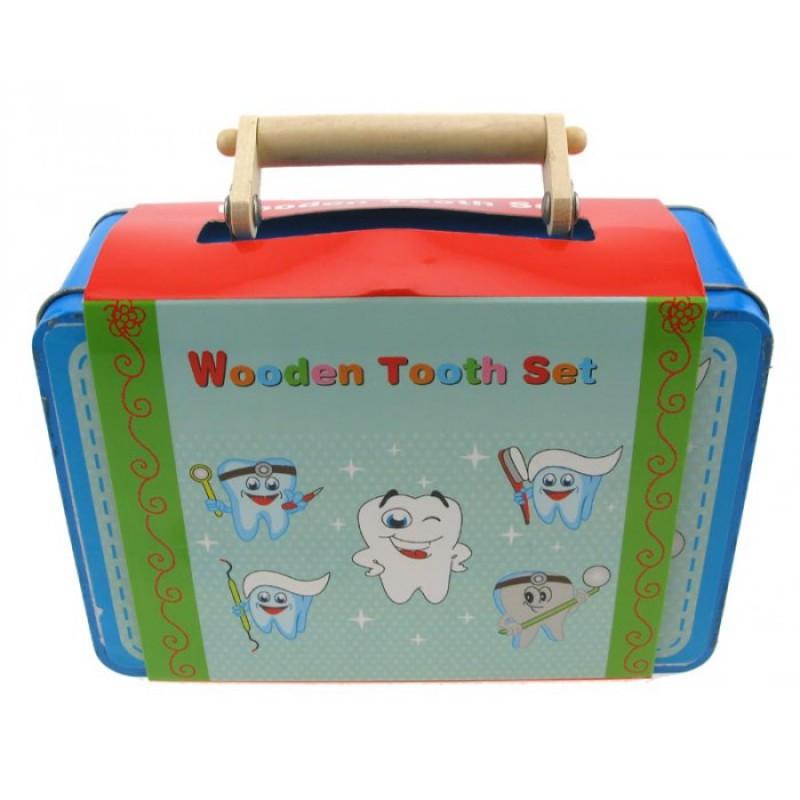 Tandartsset in koffer