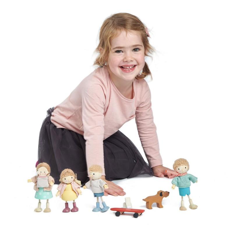 Amy en konijn popje, Tender Leaf Toys