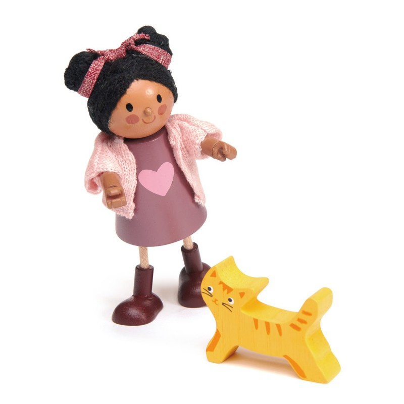 Ayana en kat, Tender Leaf Toys