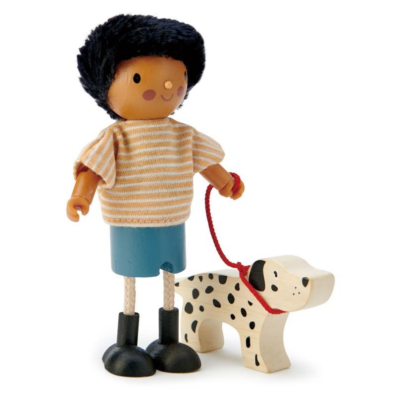 Meneer Forrester en hond, Tender Leaf Toys