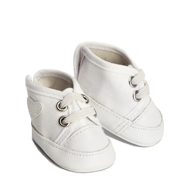 Witte poppensneakers, Micki