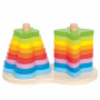 Dubbele stapeltoren regenboog, Hape
