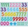 Zelfklevend krijtbord met cijfers, Mudpuppy
