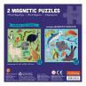 2 Magneetpuzzels land- en zeedieren, Mudpuppy