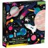 Glow puzzel Space 500 st., Mudpuppy