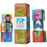 Flip Zoo Werelddieren magneetblokken, Crocodile Creek