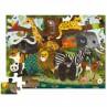 Vloerpuzzel Jungle Friends 36 stukken, Crocodile Creek