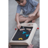 Houten flipperkast, Plan Toys