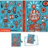 Dagboek met slot Robots, Mudpuppy