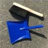 Metalen stoffertje en blikje blauw