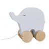 Houten trekdier olifant, JaBaDaBaDo